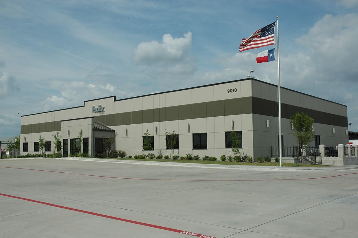 Fedex distribution center powers brown architecture - Centre commercial bron ...